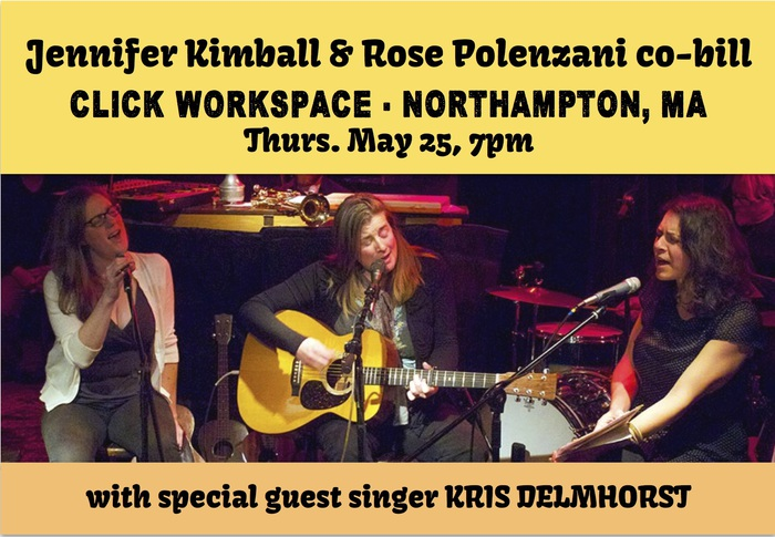 Co-bill with Rose Polenzani special guest harmony singer Kris Delmhorst