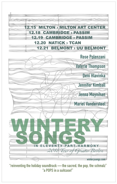 Three more Wintery Songs shows